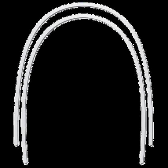 Arco de Aço Nat Retangular Superior 017x025 - 10 Unidades