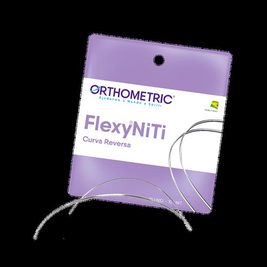 Arco Flexy NiTi Curva Reversa Redondo - 0,016'' Inferior