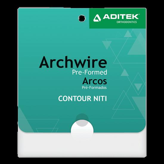 Arco NiTi Contour Termoativado Retangular
