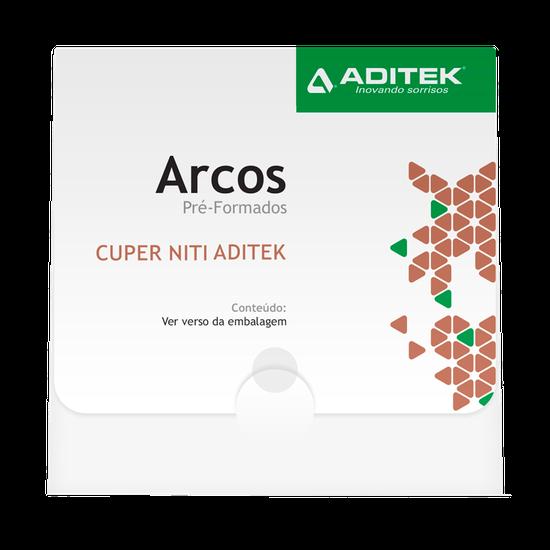 Arco Niti Cuper Termo-Ativado Retangular 0,016''X0,025'' Universal - 10 Unidades