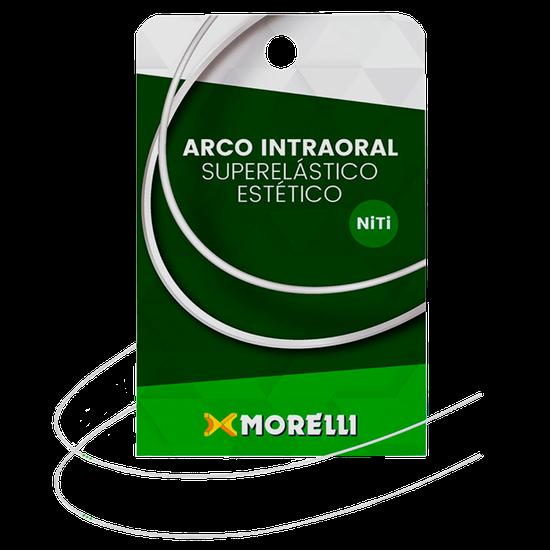 Arco Niti Estético Intraoral Superelástico Redondo - 0,016