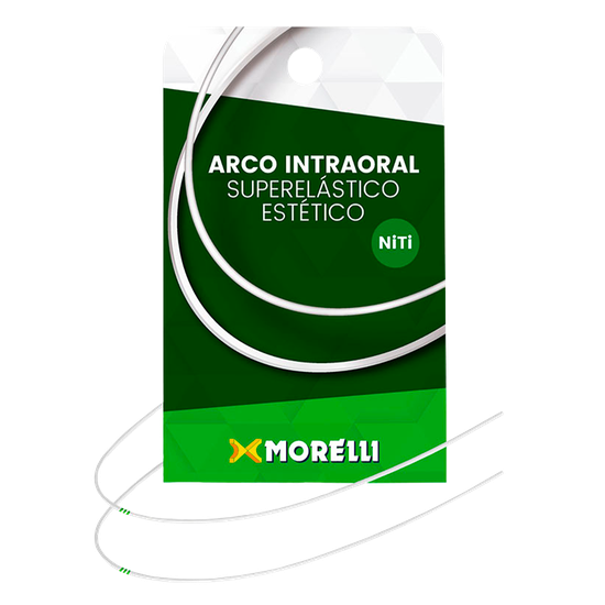 Arco Niti Estético Intraoral Superelástico Retangular - 0,019