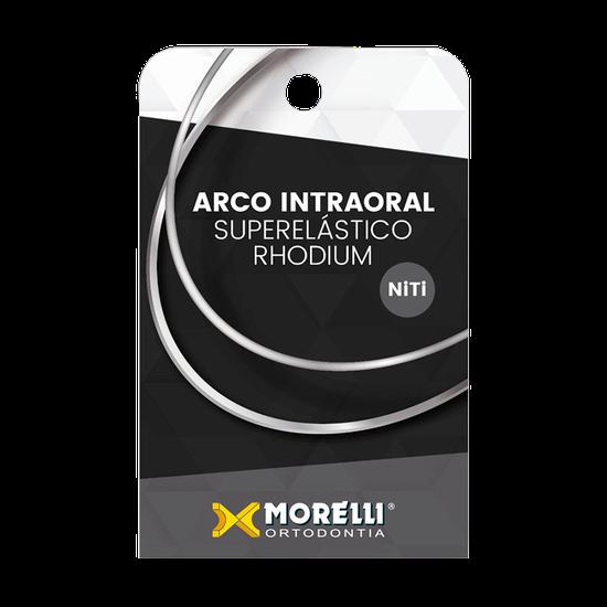 Arco Niti Intraoral Rhodium Superelástico Médio - Retangular 0,43 x 0,63mm (017 x 025) - 50.72.137