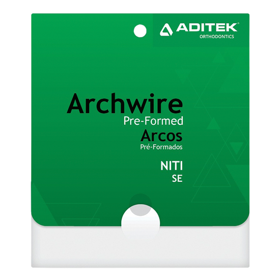 Arco Niti Redondo 0,018'' Inferior - 10 Unidades
