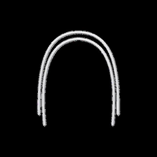 Arco Niti Superelástico Memoflex Bio Slide Redondo 0,014'' Inferior - 10 Unidades