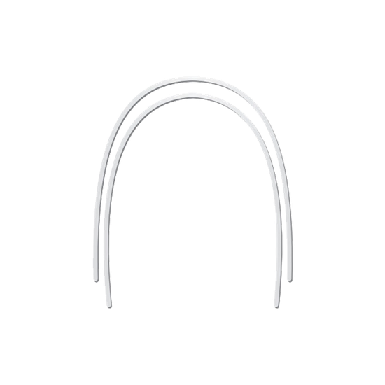 Arco Niti Superelástico Memoflex Bio Slide Retangular 0,018''x0,025'' Inferior - 10 Unidades