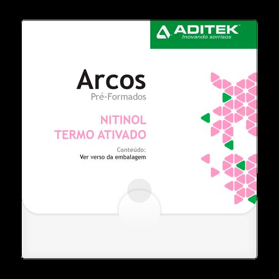 Arco Niti Termoativado Memoflex Bio Slide Retangular 0,018''x0,025'' Inferior - 10 Unidades