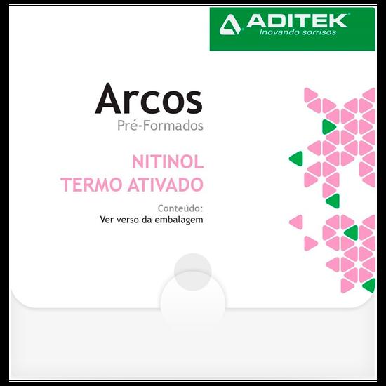 Arco Niti Termoativado Natural Retangular