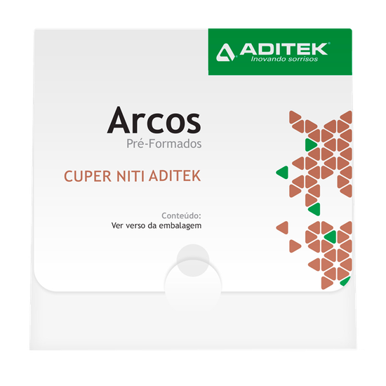 Arco NitiCuper Bio Slide G 0,013'' Universal - 10 Unidades