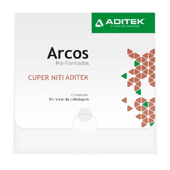 Arco NitiCuper Bio Slide G 0,018'' Universal - 10 Unidades