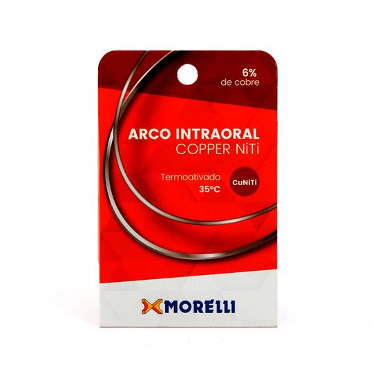 Arco Niti Copper Termoativado Intraoral Retangular- 0,016