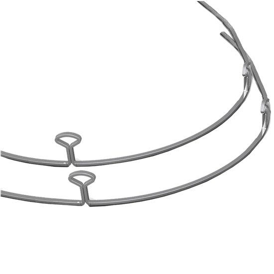 Arco Retração 2 Alças Chave 44mm 018x025 - Superior
