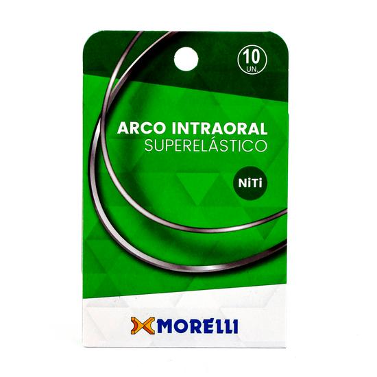 Arco Superelástico Niti Retangular 0,43X0,63mm - (0.017''X0.025'') Pequeno - 10 Unid - 50.82.012