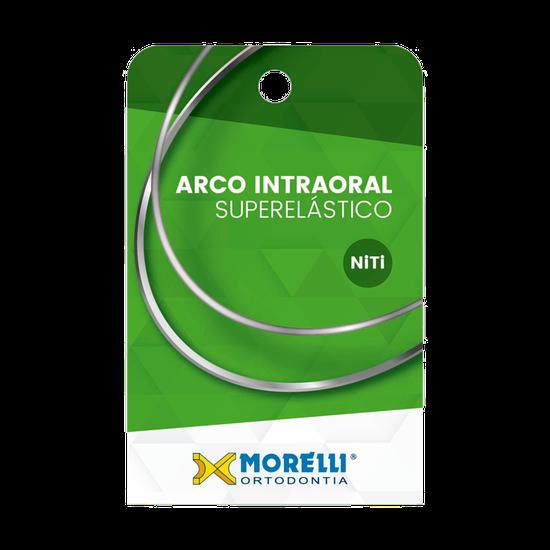 Arco Superelástico Niti Retangular 0,48X0,63mm - (0.019''X0.025'') Pequeno - 10 Unid - 50.82.014