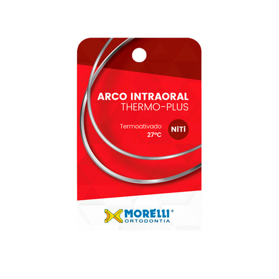 Arco Thermo-Plus Niti Redondo Ø0,45mm - (0.018'') Pequeno - 10 Unid - 50.80.227
