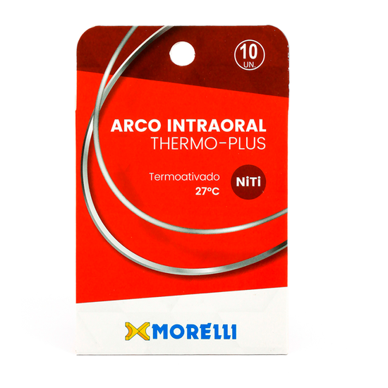 Arco Thermo-Plus Niti Redondo Ø0,40mm - (0.016'') Pequeno - 10 Unid - 50.80.226
