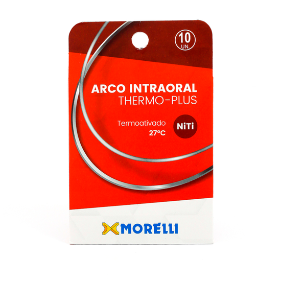 Arco Niti Thermo-Plus Retangular - 10 Unid.