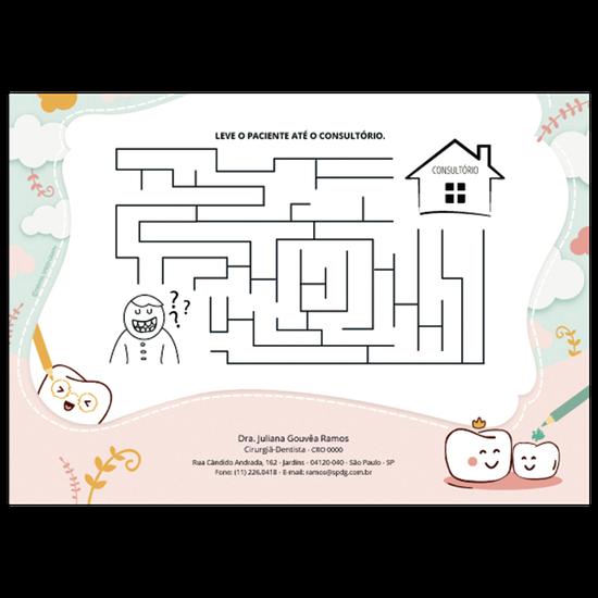 Atividades p/ a Criança - Labirinto Dentinho