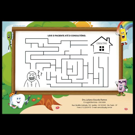 Atividades p/ a Criança - Labirinto Kiko