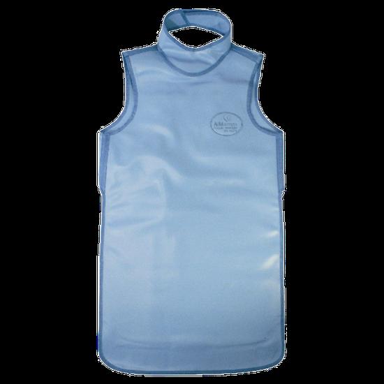 Avental de Borracha Plumbífera c/ Protetor de Tireóide 100x60cm - Uso Profissional c/ 0,25mm