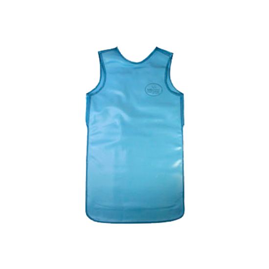 Avental de Borracha Plumbífera s/ Protetor de Tireóide 100x60cm - Uso Profissional c/ 0,25mm