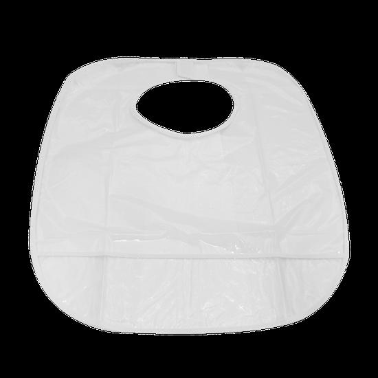 Babador Plástico Cristal Sortido - Adulto