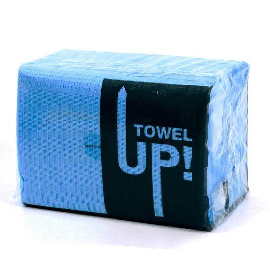 Babador Descartável Towel Up! Monoart - Azul