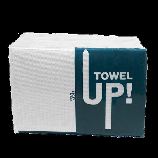 Babador Descartável Towel Up! Monoart - Branco