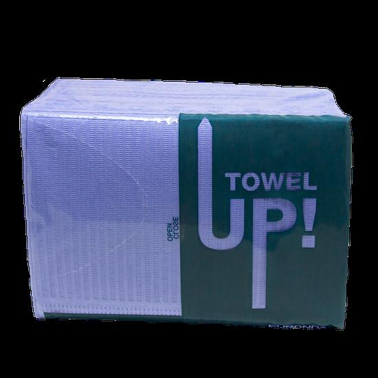 Babador Descartável Towel Up! Monoart - Lilás