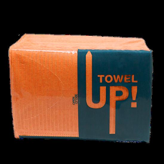 Babador Descartável Towel Up! Monoart - Laranja