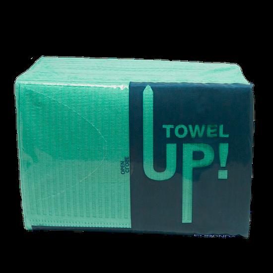 Babador Descartável Towel Up! Monoart - Verde