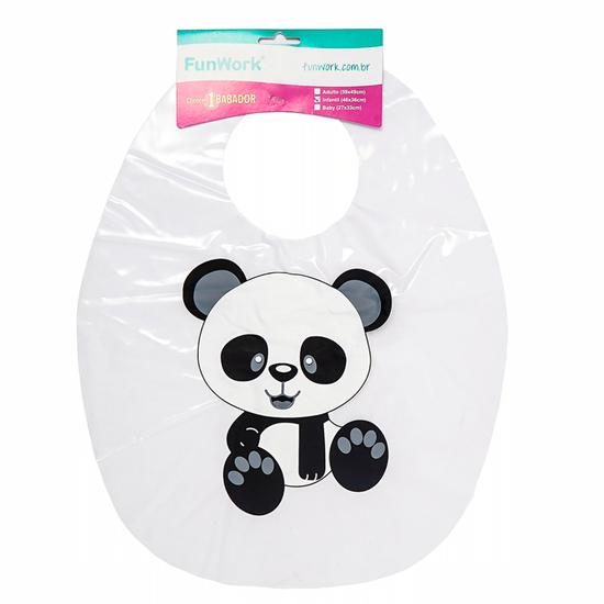 Babador Impermeável Infantil - Panda