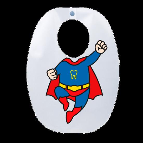 Babador Impermeável Infantil Super Herói