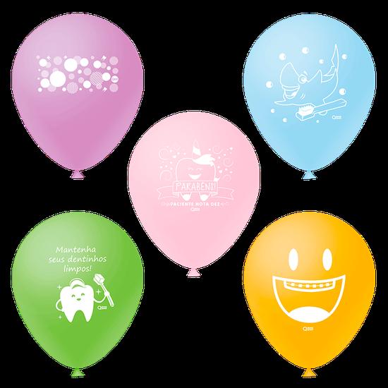 Balões Odontofunny