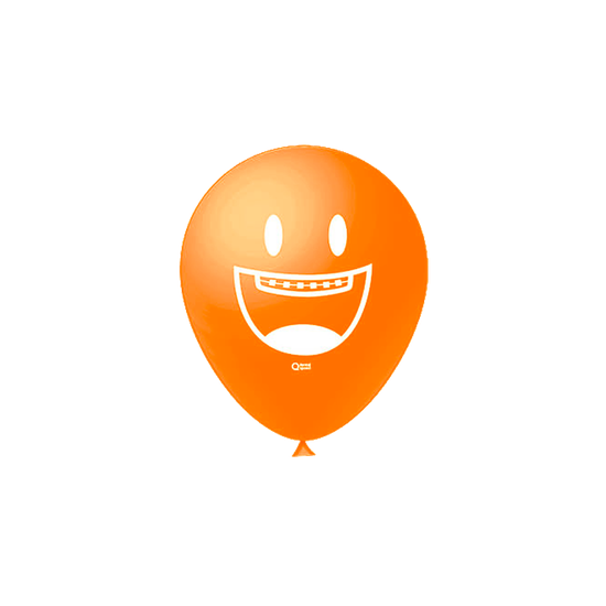 Balões Odontofunny - Laranja