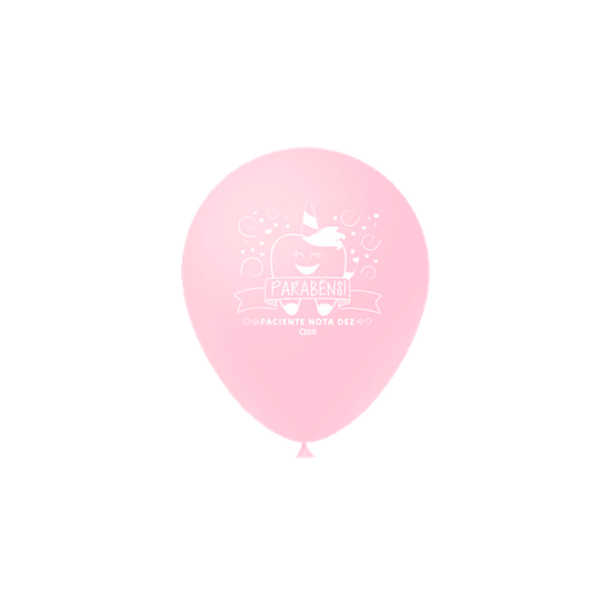 Balões Odontofunny - Rosa