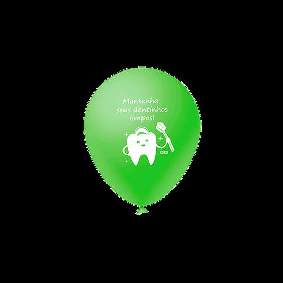 Balões Odontofunny - Verde