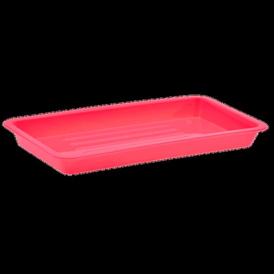Bandeja p/ 7 Instrumentos 20 X 10 X 02cm - Pink