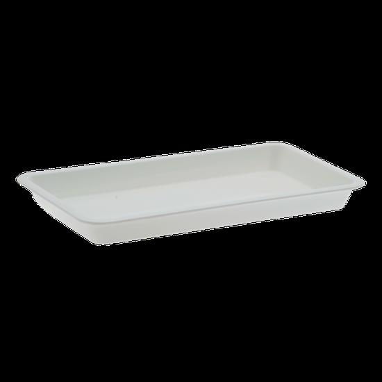 Bandeja p/ Esterilização 20 X 10 X 02cm - Branca