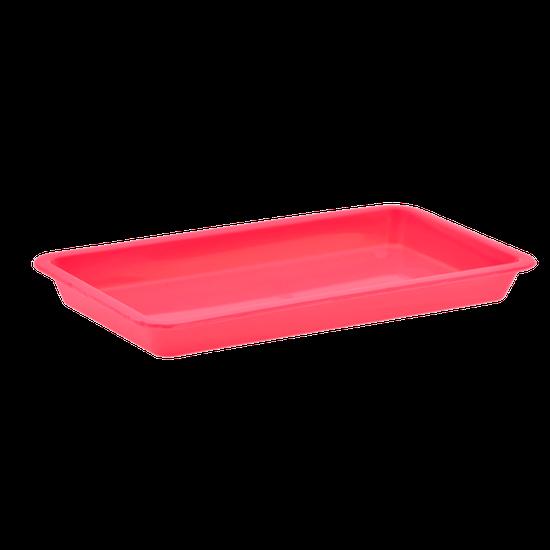 Bandeja p/ Esterilização 20 X 10 X 02cm - Pink