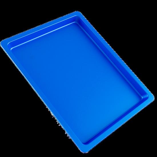 Bandeja p/ Esterilização de Instrumentos Grande - Azul