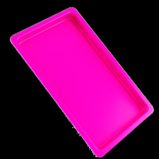 Bandeja p/ Esterilização de Instrumentos Média - Rosa