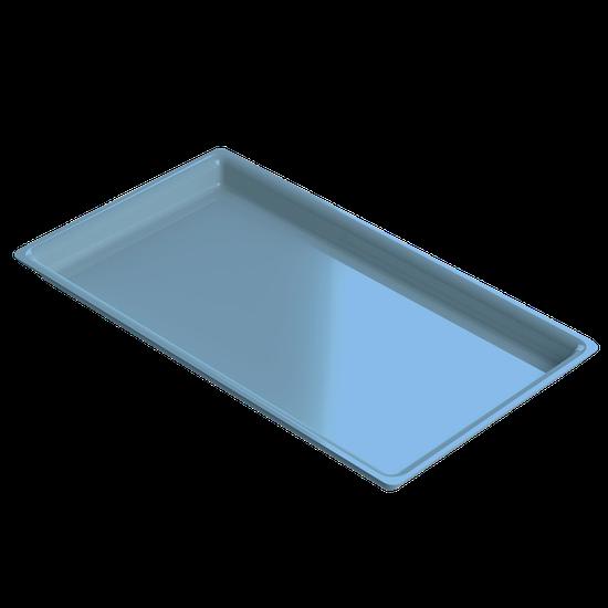 Bandeja p/ Esterilização de Instrumentos Média - Azul