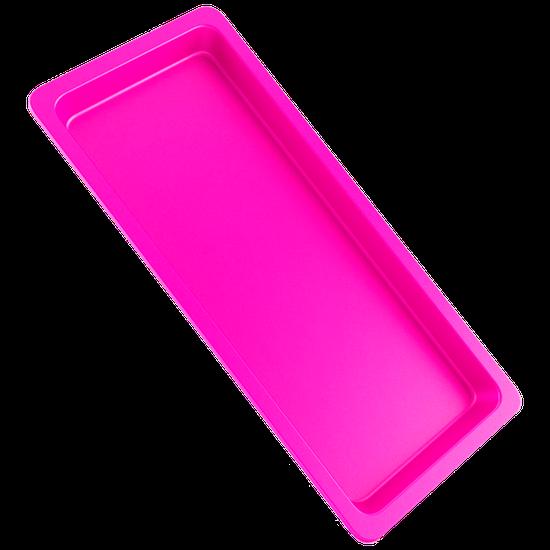 Bandeja p/ Esterilização de Instrumentos Pequena - Rosa