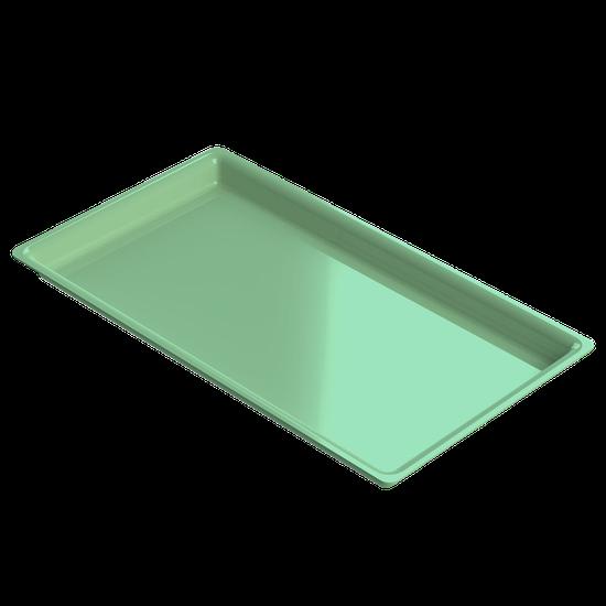 Bandeja p/ Esterilização de Instrumentos Média - Verde Claro