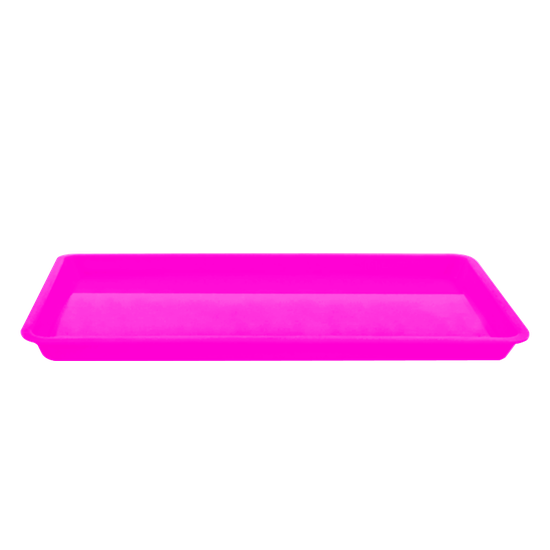 Bandeja p/ Esterilização Média - Rosa Fluorescente