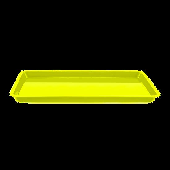 Bandeja p/ Esterilização Pequena - Amarelo Fluorescente