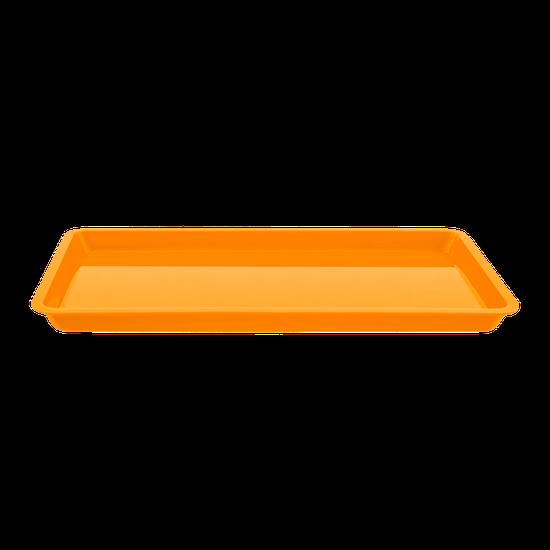 Bandeja p/ Esterilização Pequena - Laranja Fluorescente