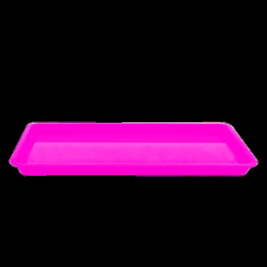Bandeja p/ Esterilização Pequena - Rosa Fluorescente