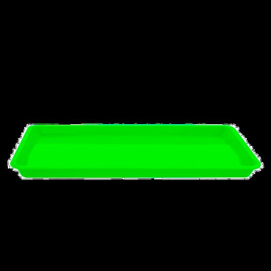 Bandeja p/ Esterilização Pequena - Verde Fluorescente